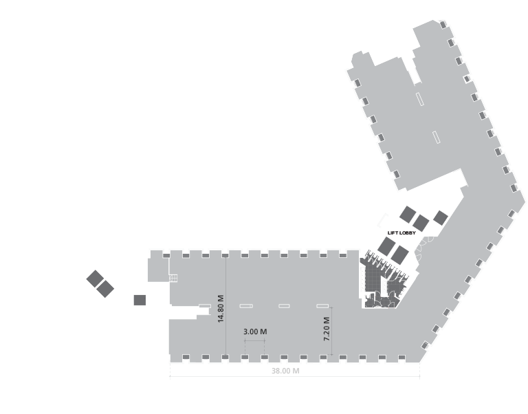 OFFICE LEVELS 7-8 TYPICAL PLAN